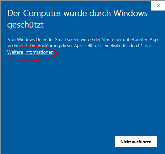 Defender Sicherheitswarnung Windows