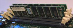 Speichersteckplätze Drucker